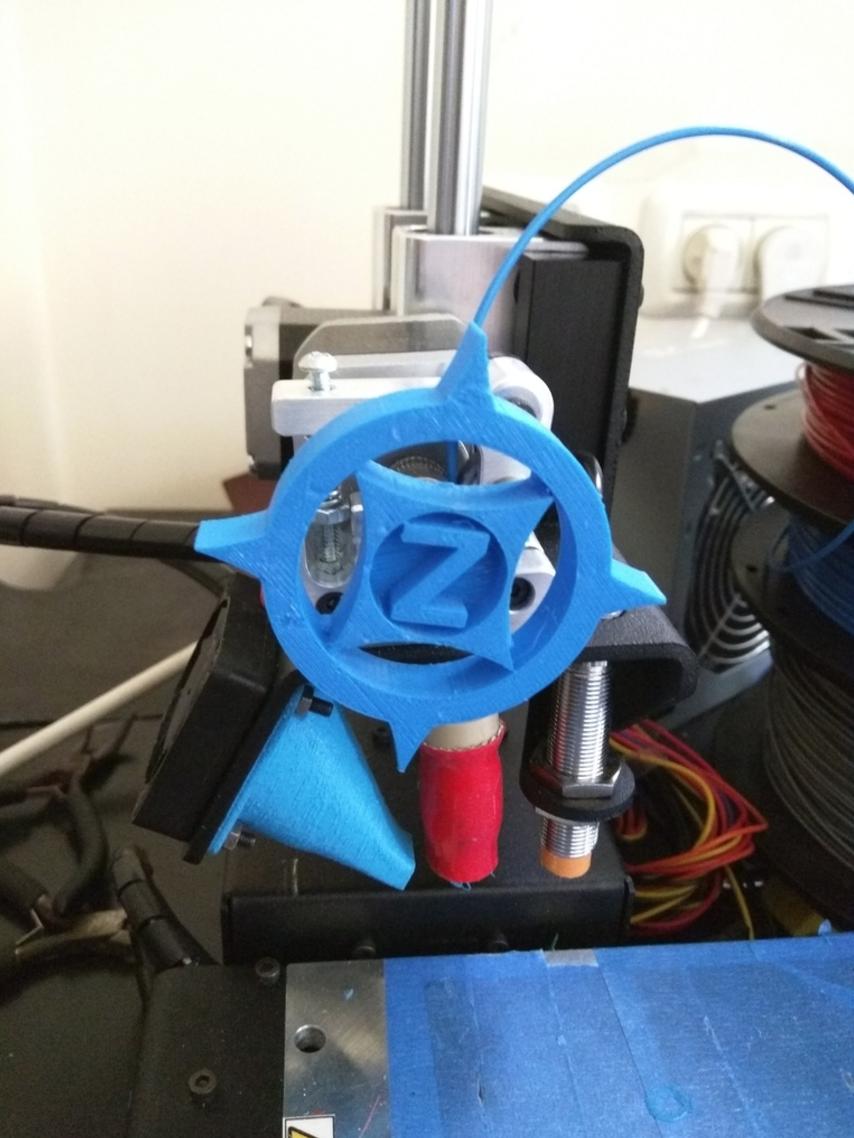 "Capture d'écran 2016-12-14 à 16.04.28.png Download free STL file Printrbot Simple Metal ""Z-StarSpike"" Feedwheel • 3D print object, Yuval_Dascalu"