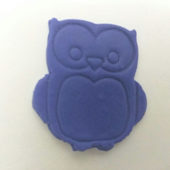 Free 3d printer model Simple Owl Cookie-Cutter, Yuval_Dascalu
