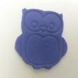 Télécharger fichier 3D gratuit Simple Owl Cookie-Cutter, Yuval_Dascalu
