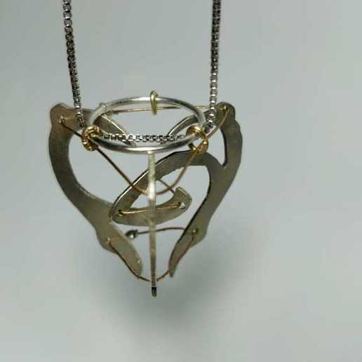 WhatsApp_Image_2020-06-05_at_1.59.16_PM1.jpeg Download free STL file Tensegrity Floating Heart Necklace • 3D printer object, Yuval_Dascalu