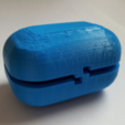 Free 3D printer designs Capsule Box w/ Hinge, Yuval_Dascalu