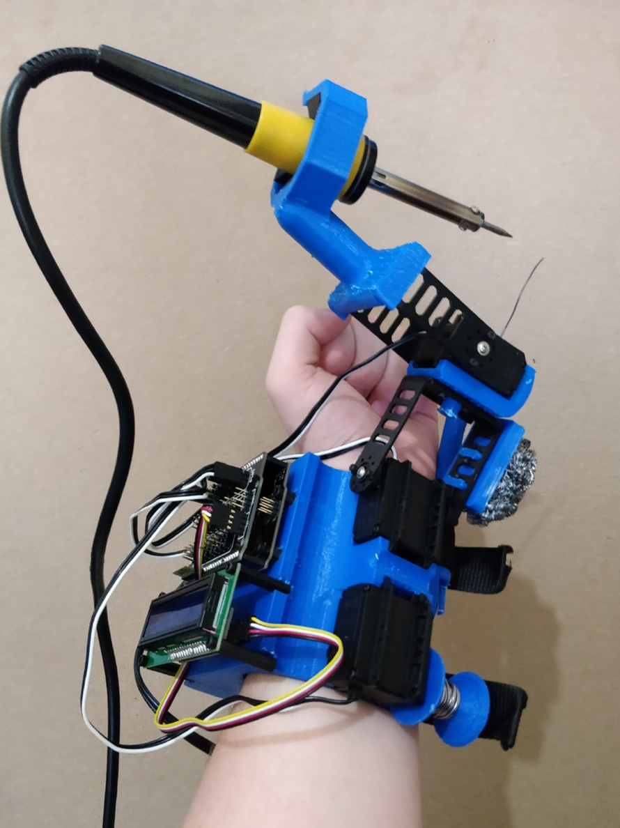Capture d'écran 2017-07-10 à 12.21.49.png Download free STL file Helping Hands Operator - Automatic Soldering Tool by Yuval Dascalu • 3D print object, Yuval_Dascalu