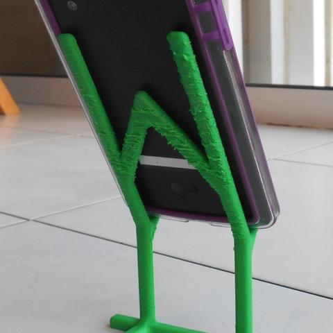Capture d'écran 2016-12-14 à 16.37.31.png Download free STL file Phone Holder • Model to 3D print, Yuval_Dascalu