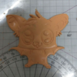Download free 3D model  Detailed Bat Cookie Cutter, Yuval_Dascalu