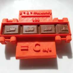 Free 3D printer file Measure the Speed of Light With Chocolate!, Yuval_Dascalu