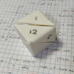 Free 3D printer designs D18 Fidget Cube, Yuval_Dascalu