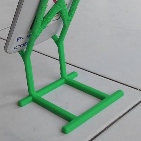 Capture d'écran 2016-12-14 à 16.37.42.png Download free STL file Phone Holder • Model to 3D print, Yuval_Dascalu