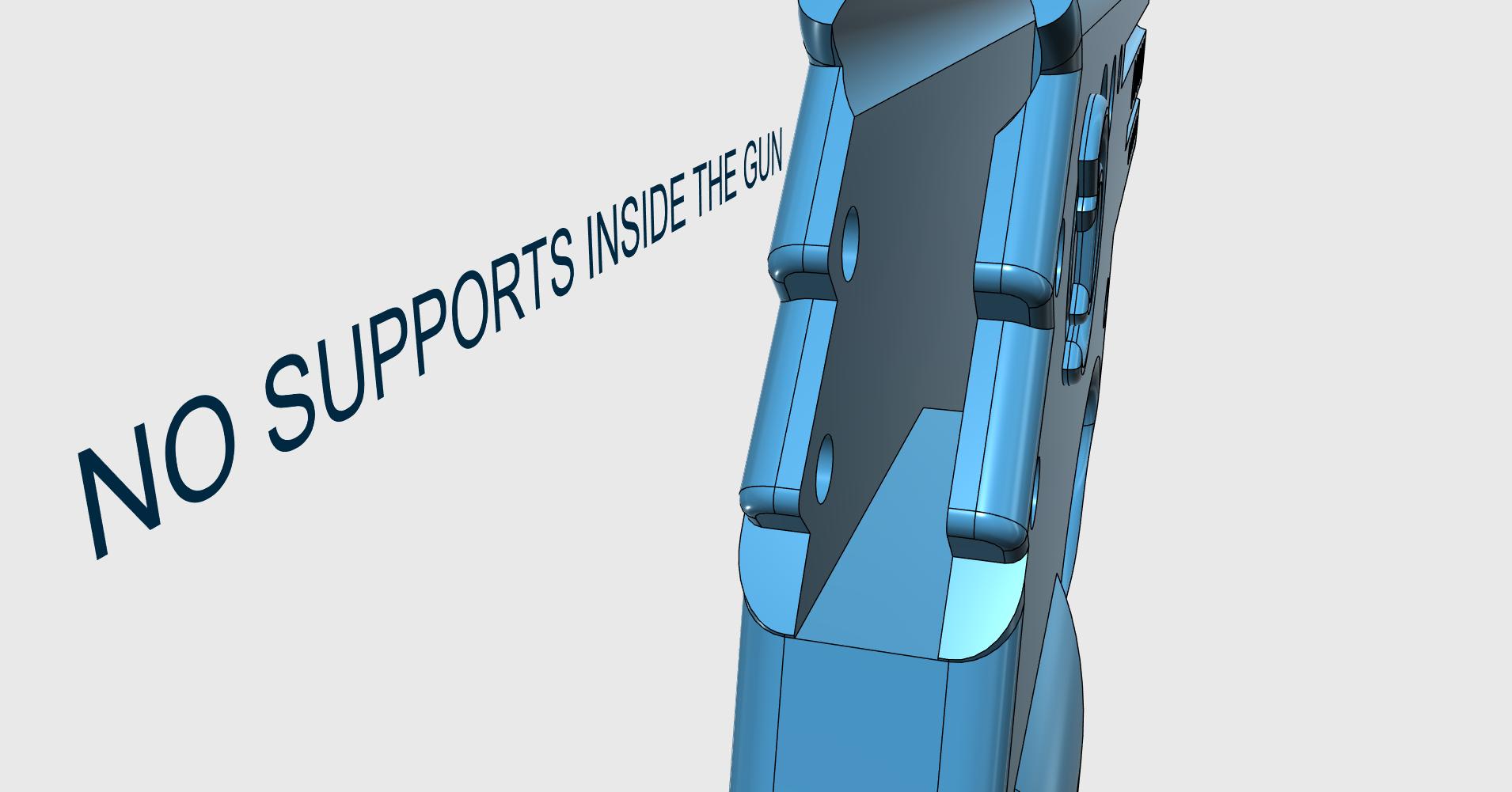 INFO SUPPORT1.png Download STL file GUN SHOOTS RUBBERBAND  • 3D printing object, JonathanOlivarDizon