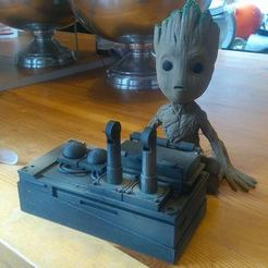 Download STL file Atom bomb  more details!!!! ( guardians of the galaxy ) • 3D print design, JonathanOlivarDizon