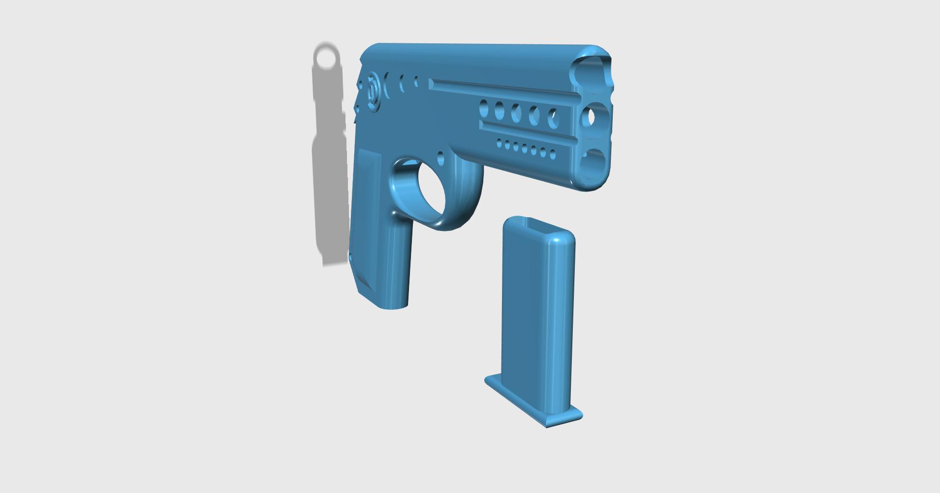 rubbergun3.png Download STL file GUN SHOOTS RUBBERBAND  • 3D printing object, JonathanOlivarDizon