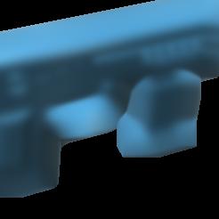 gun with one magasin.stl Download STL file GUN SHOOTS RUBBERBAND  • 3D printing object, JonathanOlivarDizon