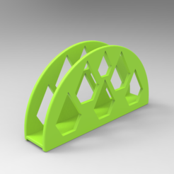 Free 3d printer designs Napkin Holder, Bitencourt