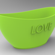 Pote1.PNG Download free STL file Love Office pot • 3D printing object, Bitencourt