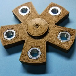Descargar archivos 3D gratis Tuerca hexagonal M8 hexagonal, Bitencourt