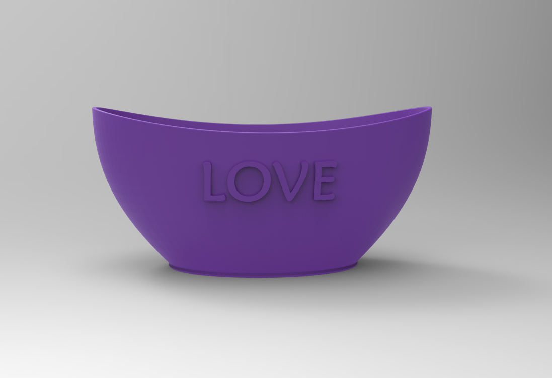 Pote3.PNG Download free STL file Love Office pot • 3D printing object, Bitencourt