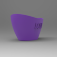 Pote4.PNG Download free STL file Love Office pot • 3D printing object, Bitencourt