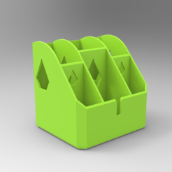 Free 3D printer designs Pen Holder for Noob (Very easy to print), Bitencourt