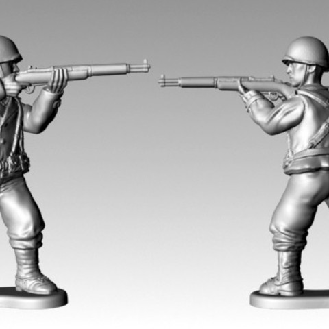 Download free STL file WWII American Body P4 • 3D printer design, SciFiTim