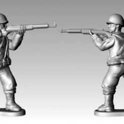 Download free 3D printing templates WWII American Body P4, SciFiTim