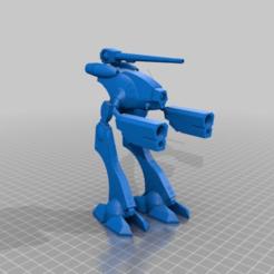 Download free STL file Robotech Zentradi Officer Pod • Model to 3D print, FreeBug