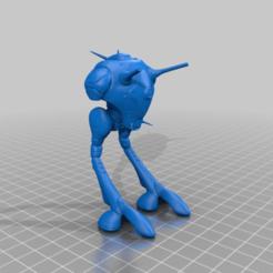 Download free STL file Robotech Zentradi Battlepod • 3D printer design, FreeBug