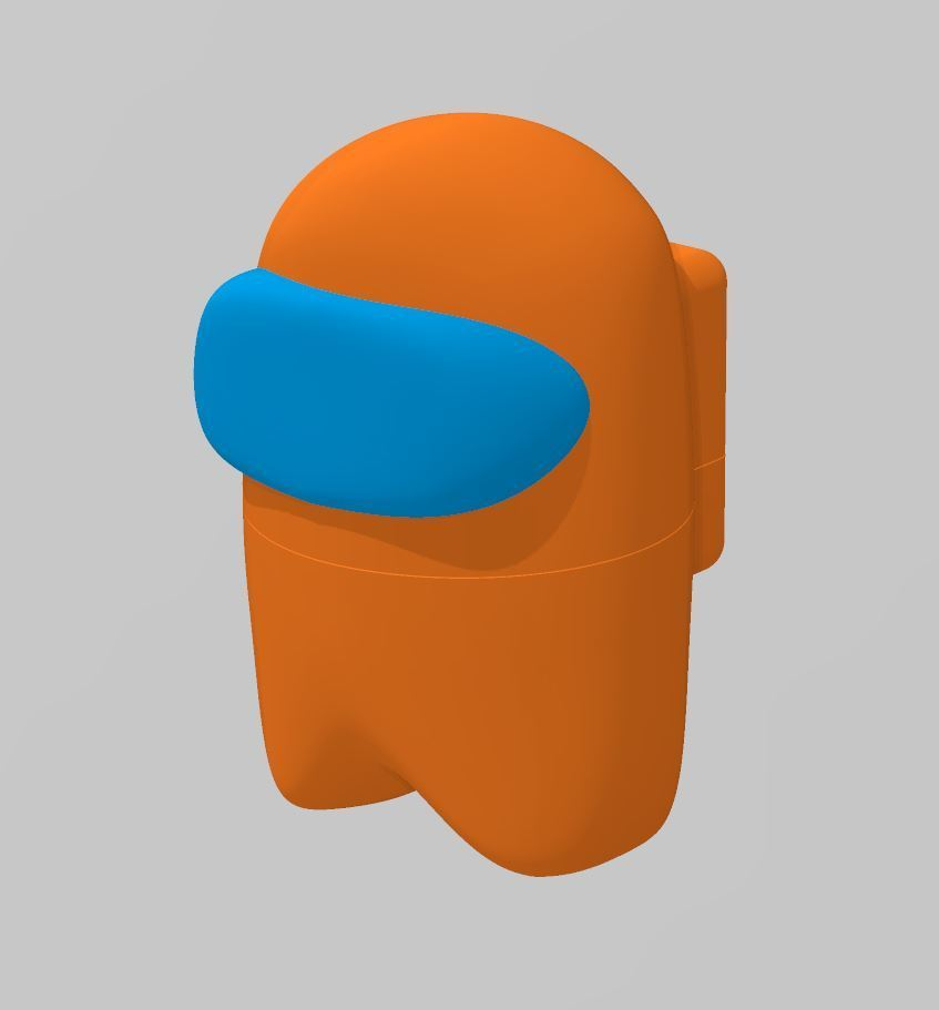 Download Free Stl File Among Us Dead Or Alive 3d Printer Template Cults