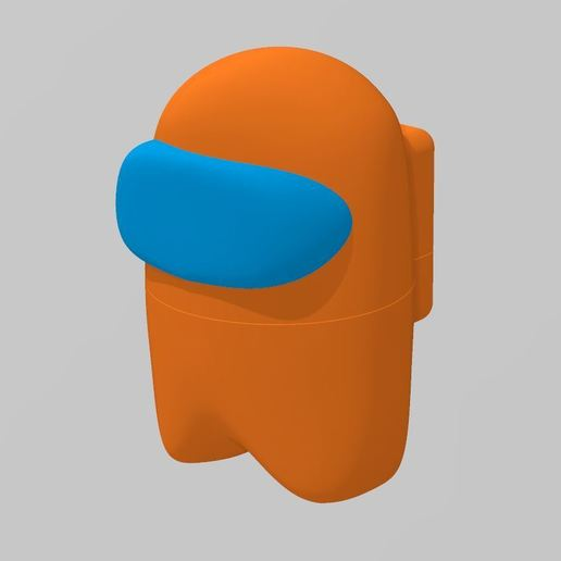 Body.jpg Download free STL file Among Us - Dead or Alive • 3D printer template, FreeBug