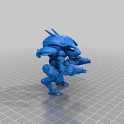 Download free STL file D.Va's Meka • 3D print design, FreeBug