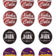 Download free STL file Nuka Cola - Art Deco, FreeBug