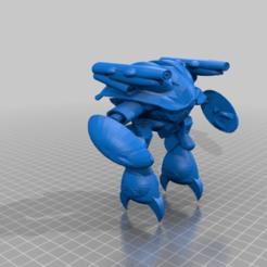 b726f2d30bd0d3f1a1b66958ddb6d5cf.png Download free STL file Robotech Invid - 2019 • 3D printable template, FreeBug