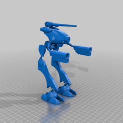Download free STL file Robotech - Zentradi Officer Battle Pod - Glaug (Made to Move) • 3D printable design, FreeBug