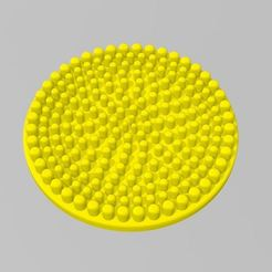 Painters_Puck.jpg Download free STL file Basic Painter's Puck - Brush Cleaner • 3D printer model, FreeBug
