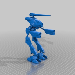 70568211aab1ba9c6e438ae625794553.png Download free 3MF file Robotech - Zentradi Officer Battle Pod - Battle Damage (Made to Move) • 3D printable model, FreeBug