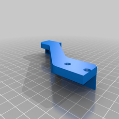 Ender_5_Plus_-_Bed_Strain_Releif_Bracket_Arm_Countersunk.png Download free STL file Ender 5 Plus - Bed Strain Relief • 3D print object, FreeBug