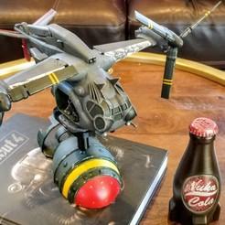 Descargar STL gratis Vertibird VB-01 - Fallout 4, FreeBug