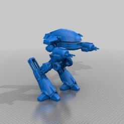 8b91b183f255f7ad1d1dfd5ee3ce0176.png Download free 3MF file Robocop ED-209 (Omni Consumer Products) • Design to 3D print, FreeBug