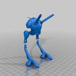 Download free STL file Robotech - Zentradi Battlepod - Made to Move • 3D print design, FreeBug