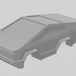 Download free 3D printing models Tesla Cybertruck for Anki Cars, FreeBug