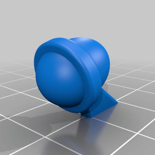 Top_Light.png Télécharger fichier 3MF gratuit LIMACE MÉTALLIQUE - NOP-03 SARUBIE • Plan imprimable en 3D, FreeBug