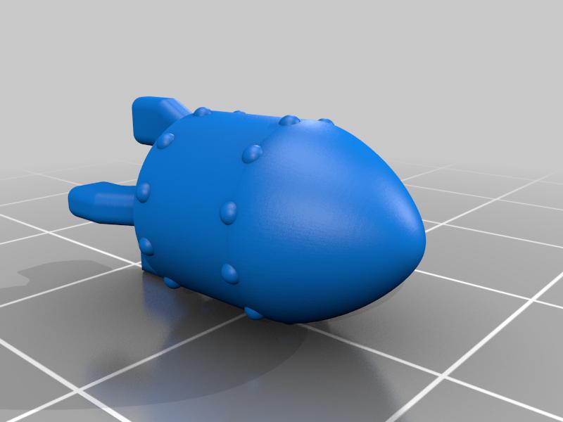 Small_Bomb.png Télécharger fichier 3MF gratuit LIMACE MÉTALLIQUE - NOP-03 SARUBIE • Plan imprimable en 3D, FreeBug