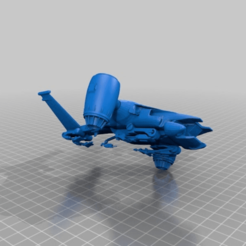 d9229d647669238929be1a415ba0b7f4.png Download free STL file Cyberdyne Systems - Hunter Killer Gen 1 • 3D printing model, FreeBug