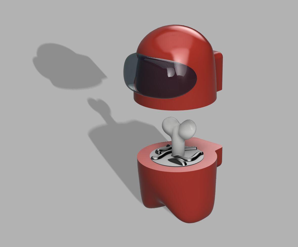 Render.jpg Download free STL file Among Us - Dead or Alive • 3D printer template, FreeBug