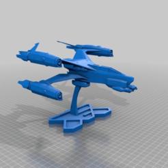 8fba06f74b44e10a9fa2a21a8ef68933.png Download free STL file Babylon 5 - Thunderbolt • 3D printable design, FreeBug