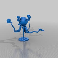018d3c7c73cd64a870f01b18170b19b7.png Descargar archivo STL gratis Sr. Handy (con agallas) - Fallout 4 • Diseño para la impresora 3D, FreeBug