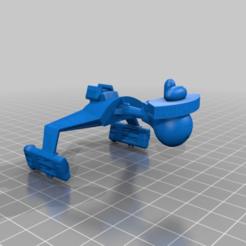 3702fe3c9795b7413f4c21d43a09231e.png Download free STL file Puffy Klingon D7 Battlecruiser • 3D printing template, FreeBug
