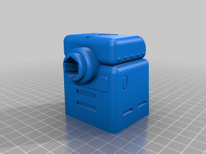 Upper_Chassis.png Télécharger fichier 3MF gratuit LIMACE MÉTALLIQUE - NOP-03 SARUBIE • Plan imprimable en 3D, FreeBug