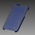icase.PNG Download free STL file Case iPhone 6 Formula 1 • 3D printable design, ALO