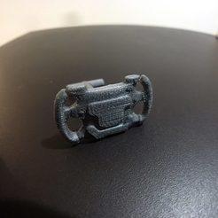 Imprimir en 3D F1 Steering Wheel Cufflinks, ALO