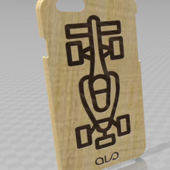 Download free 3D printer model Case iPhone 6 Formula 1, ALO