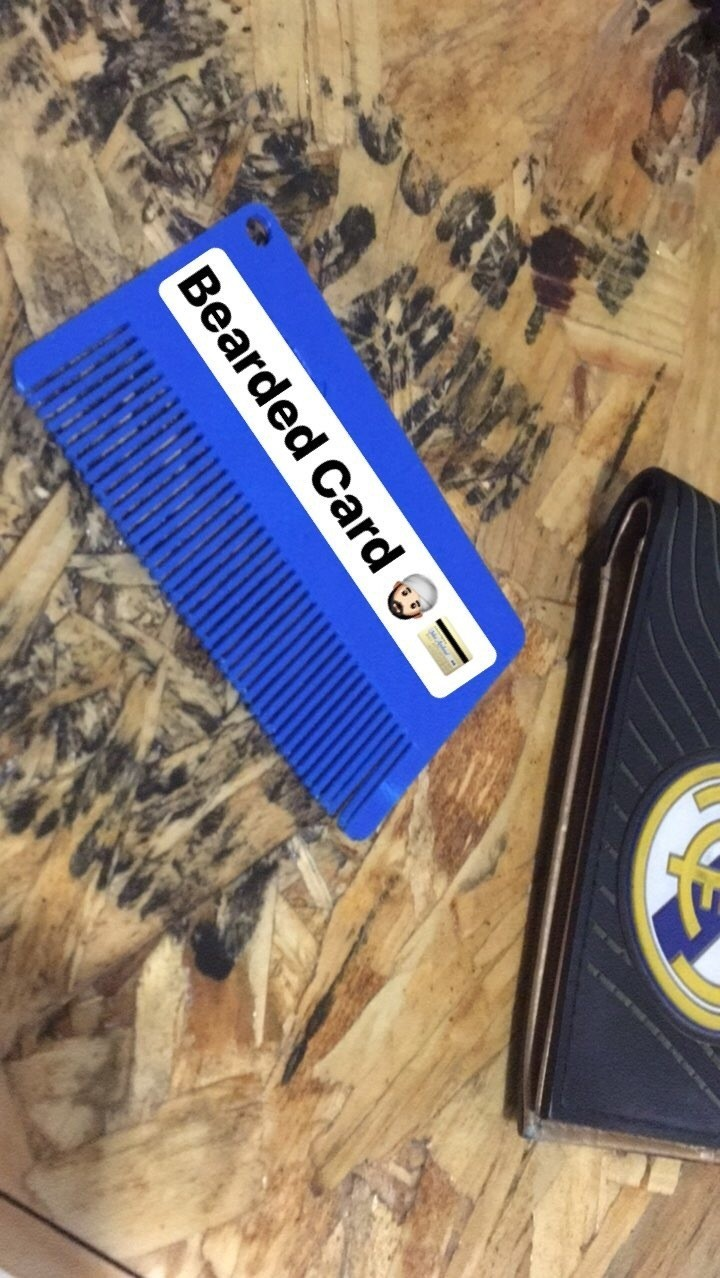 IMG_4554.JPG Download free STL file Bearded Card. • 3D print object, ALO